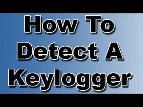 How To Detect And Remove If Your Computer Has A Keylogger And Or Virus Youtube
