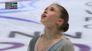 Камила Валиева выиграла юниорский чемпионат мира с мировым рекордом