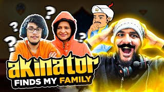 Finding my FAMILY on AKINATOR !! *crazyy results*