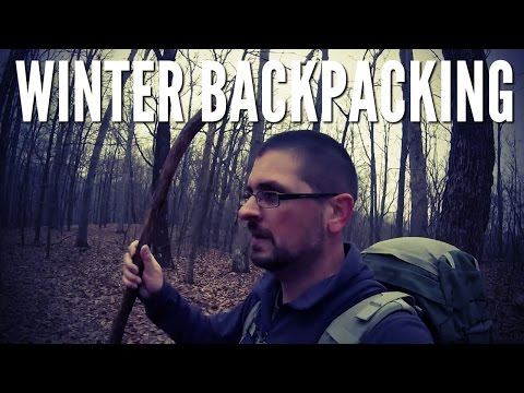 Winter Backpacking - Zaleski State Forest South Loop