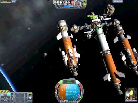 KIEMM Part 2 - Second Propulsion Module - Kerbal Interplanetary Exploration and Mining Mission