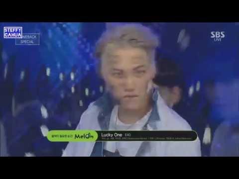EXO - Lucky One LIVE (Fanchant y Lyrics) @MuBank @Mnet y @Inkigayo