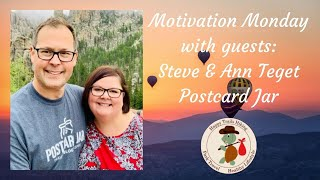 Motivation Monday with guests, Postcard Jar - Healthy Lifestyle Show
