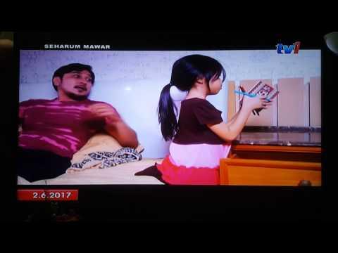 Lagu 'Pertama Kali' Salimey dalam Drama Seharum Mawar makin menarik..