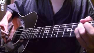 """東京喰種 Tokyo Ghoul OP """"unravel"""" On Guitar By Osamuraisan 【TK From Ling Tosite Sigure】"""