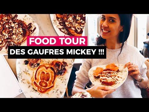 DES GAUFRES MICKEY A DISNEYLAND PARIS !