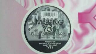 Tyt 01 Kenny Sharp Missing You