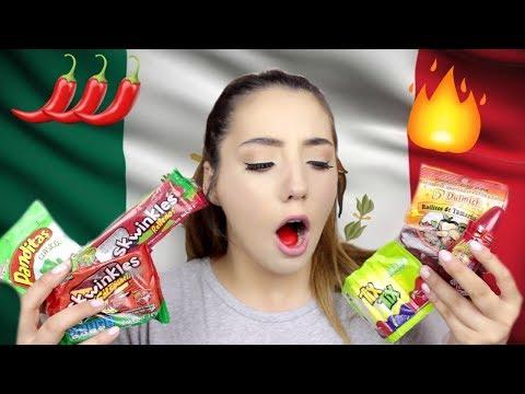BRITISH GIRL TRIES MEXICAN CANDY | ThoseRosieDays