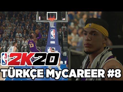 Türkçe NBA 2K20 MyCAREER #8 | LeBRON NEDEN KRAL OLDUĞUNU HATIRLATTI! GELİŞİYORUZ