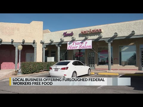 Albuquerque salon collecting donations for furloughed government workers