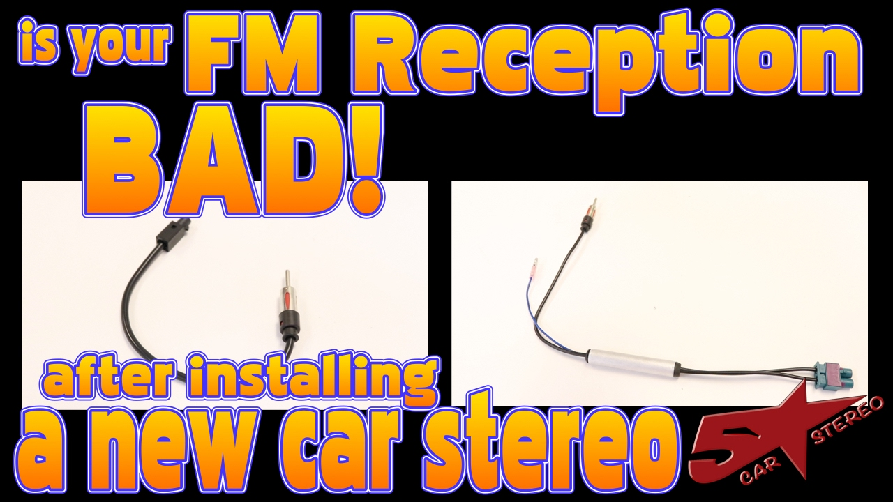 Is The Fm Reception Bad After Installing A New Car Stereo German 2004 Saab 9 3 Convertible Radio Wiring