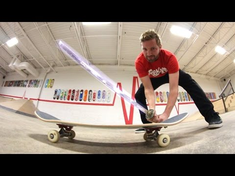 ReVive Skateboards Strength Test / SAMURAI SWORD