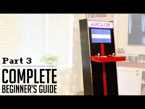 Easiest DIY Arcade EVER – Part 3 – Everything Else