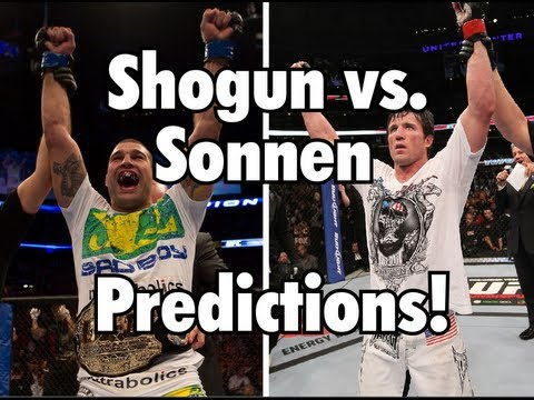 UFC Fight Night: Shogun vs. Sonnen Predictions by CascadeSoldier