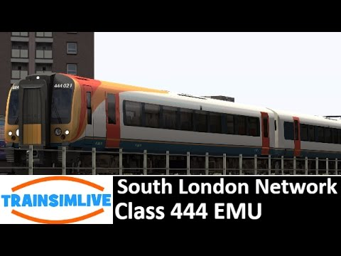 Let's Play Train Simulator - South London Network, Class 444