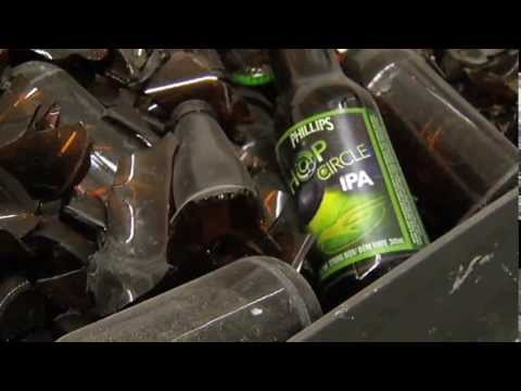 Turning Glass Bottles into Countertops - Shaw TV Victoria