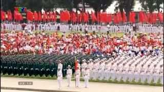 Diễu binh Quốc khánh nước CHXHCN Việt Nam 2-9-2015 [Full HD]