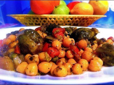 Рецепт нута в мультиварке с овощами