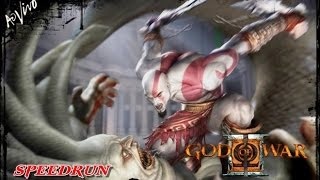 GOD OF WAR 2 | SPEEDRUN - SEM BUG (NO GLITCH) | EASY