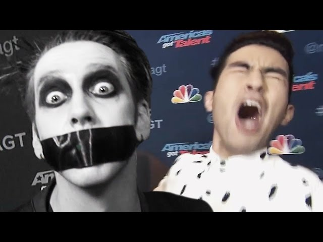 'America's Got Talent': Tape Face Pranks ET's Denny Directo