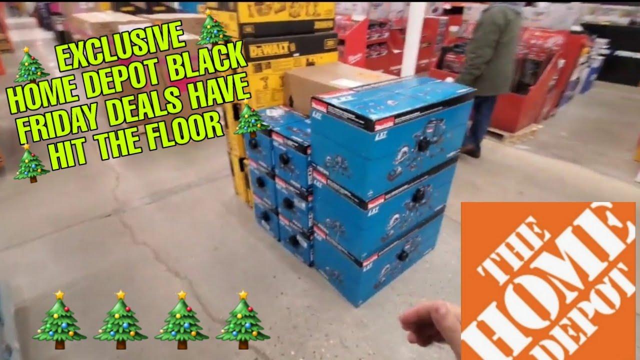 Exclusive Home Depot Black Friday Deals Have Hit The Floor Makita And Dewalt