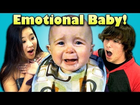 TEENS REACT TO CRYING BABY