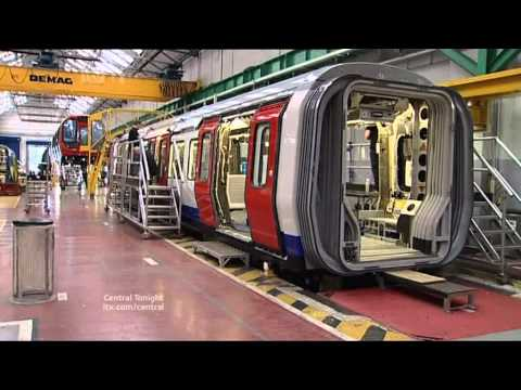central tonight 1400 uk jobs lost at Derby train builder