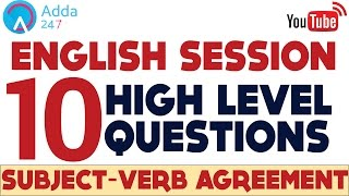 SBI PO 2017- Questions Of Subject Verb Agreement- Eng Grammar - Online Coaching for SBI IBPS Bank PO thumbnail
