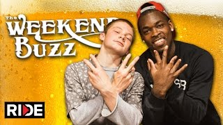 Theotis Beasley & Tristan Funkhouser: Skydiving, Tampa Am, Hat Rules: Weekend Buzz ep. 112 pt. 2