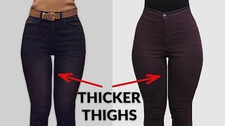 How I Got Thicker Thighs | Home Workout for Inner Thighs