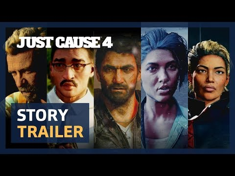 Just Cause 4 story trailer teases the torment and triumphs of Rico Rodriguez | PC Gamer