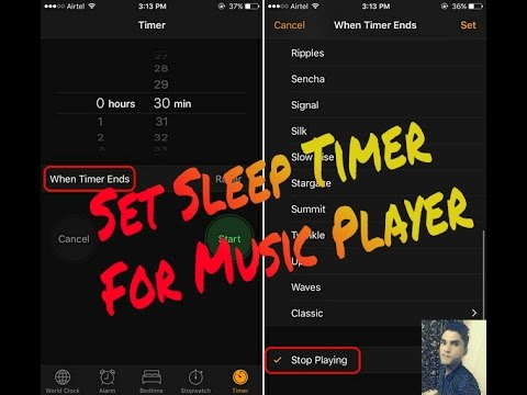 Set Sleep Timer For Music Player On Any Android Device