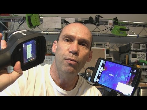 How Does a Thermal Camera Work - Demo, Specs and Datasheets - Pt 1