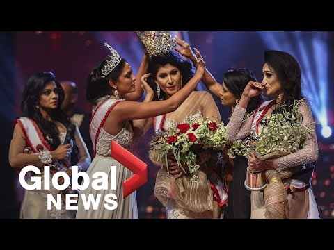 Sri Lanka beauty queen reinstated as winner after Mrs. World stripped her of crown on stage