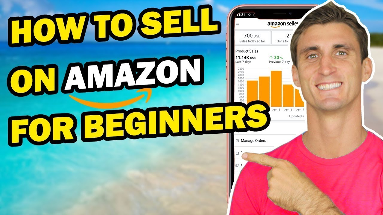 how to sell on amazon step by step