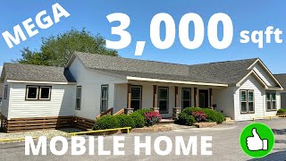 You have to see this new custom built home!! Massive mobile home like no other!! Modular Home Tour