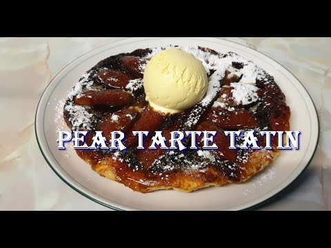 Pear Tarte Tatin