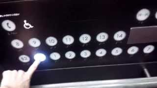 祝!200本目【HD】三菱エレベーター あべのハルカス近鉄百貨店 西側その2