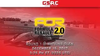 Apex Online Racing Formula Renault 2.0 Championship - Season 8 - Round 1 - Watkins Glen