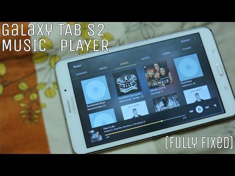 Galaxy Tab S2 Music Player Port Tab 4