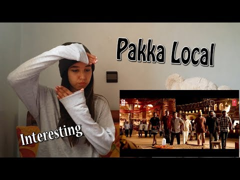 Pakka Local Full Video Song -'Janatha Garage' _ REACTION