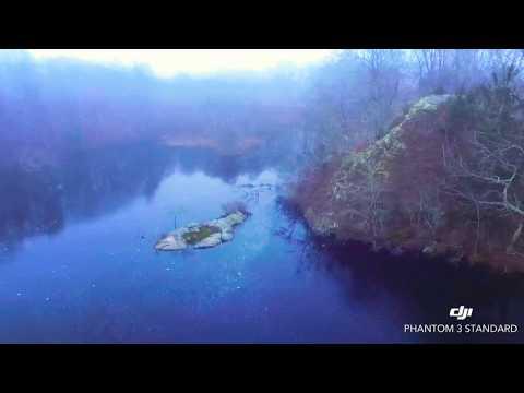 DJI DRONE FOGGY DAY FLYING