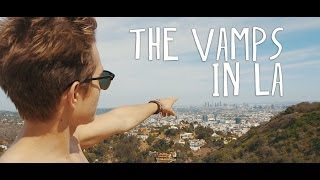 The Vamps In LA (Disney RDMAs, Hollywood, Santa Monica & Recording)