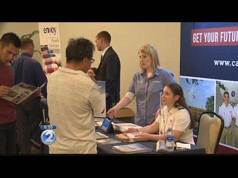 Pilot job fair draws Island Air employees looking for work