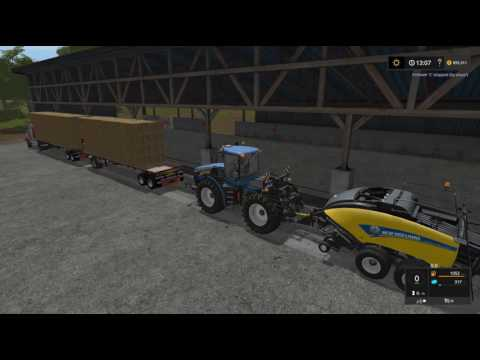 Farming Simulator 17 Follow Me mod in ACTION!