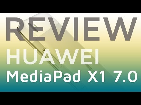 Test: HUAWEI MediaPad X1 7.0 Review | deutsch 📹 techloupe