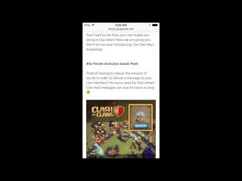 Clash of Clans Forum Sneak Peek 5!
