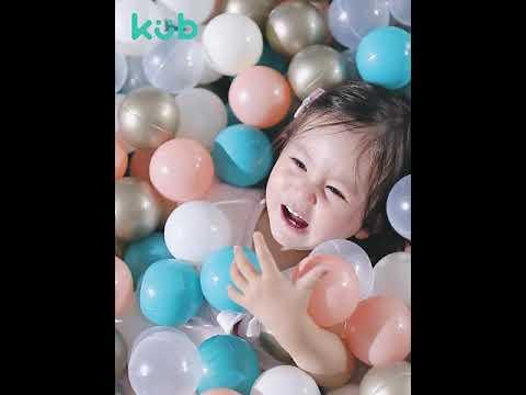 Kub 50 Colourful Play Balls