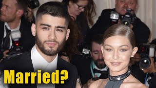 Zayn Malik & Gigi Hadid Are Married According To Collaborator
