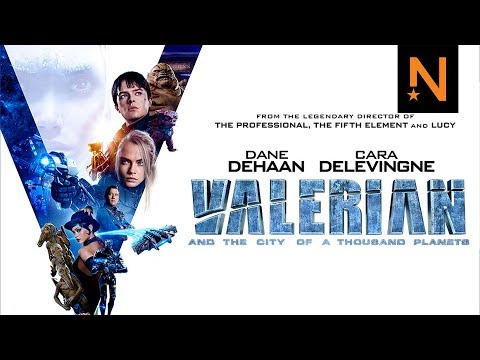 'Valerian and the City of a Thousand Planets' Official Trailer HD